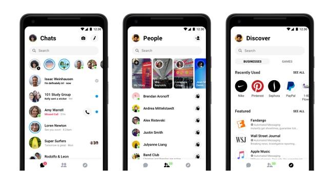 فيسبوك مسنجر : أهم 4 ميزات جديدة