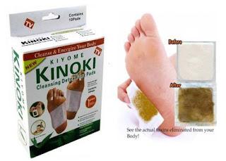 KIYOME KINOKI CLEANSING FOOT PADS