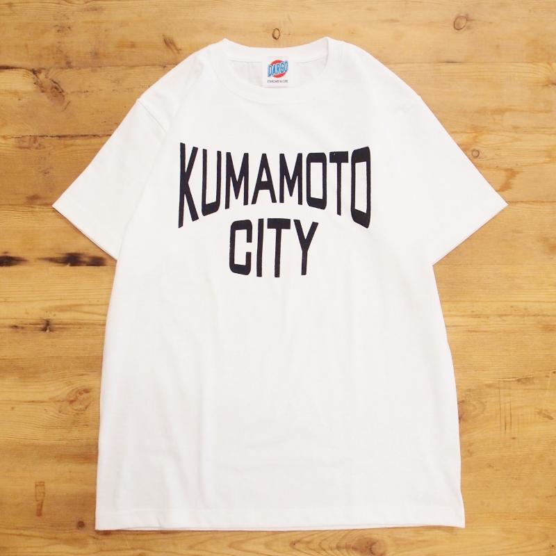 """【プリントに脂がのってきた""""KUMAMOTO CITY"""" T-shirt】"""