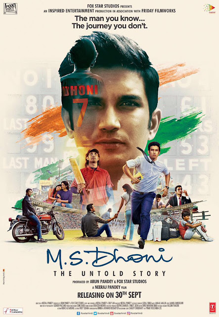 M.S. Dhoni: The Untold Story, Poster