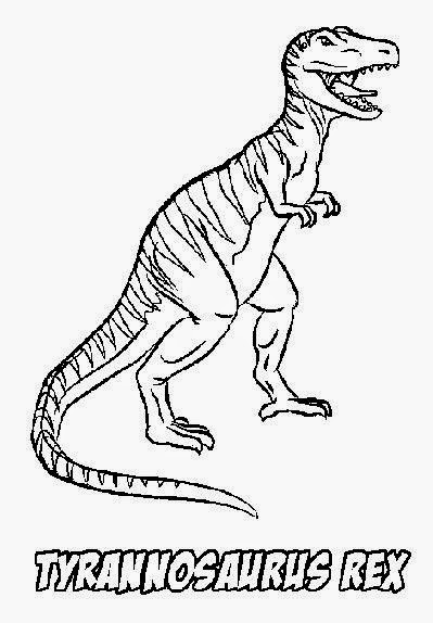 Cute baby dinosaur coloring pages for T rex dinosaur coloring pages
