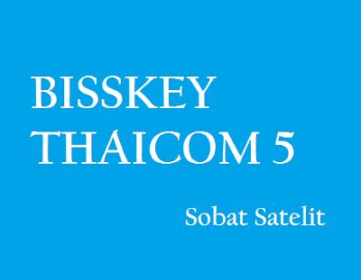 biss key terbaru satelit thaicom 2018
