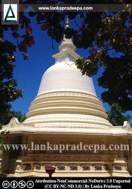 The Stupa, Galkissa Samudrasanna temple