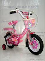 Sepeda Anak Merino 12-3392 Flower 12 Inci