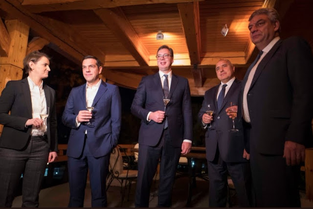 Τσίπρας: Μόνο με σεβασμό στις συνθήκες μπορούμε να ζήσουμε ειρηνικά στα Βαλκάνια