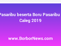 Marga Pasaribu beserta Boru Pasaribu Peserta Caleg Tahun 2019