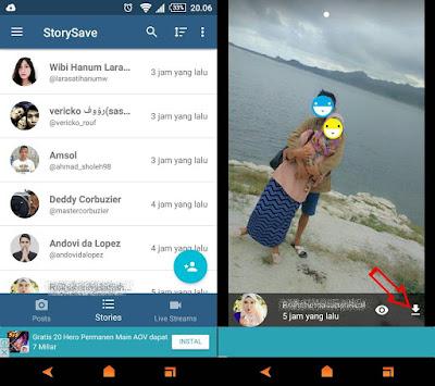 Melihat Story Instagram Android Tanpa Ketahuan