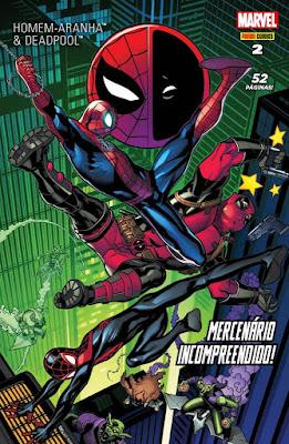 Homem-Aranha e Deadpool 2 Panini