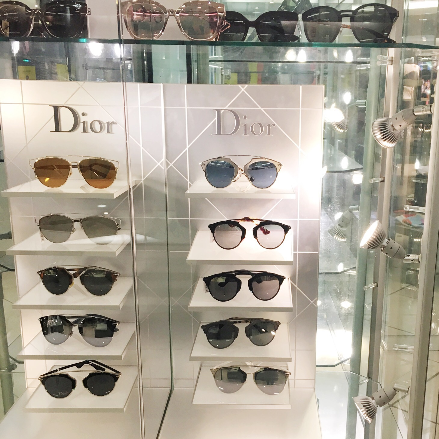 Dior Sunglasses at Fenwick Newcastle