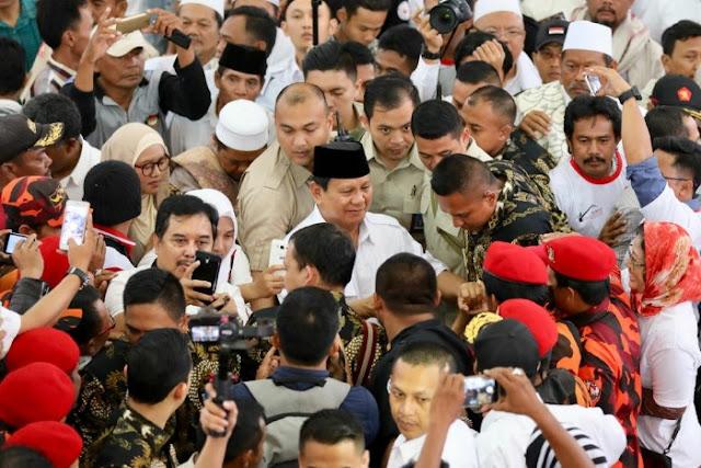 58 Ormas Bertekad Menangkan Prabowo-Sandi di Jawa Barat