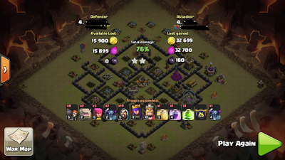 strategi anti bintang 3 coc th 8
