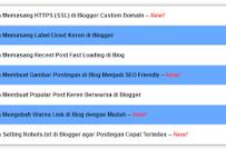 Cara Membuat Sitemap Di Blogger Terbaru 2019
