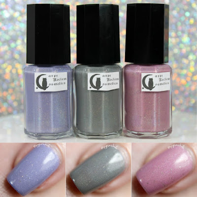 Carpe Noctem Cosmetics for Nail Whisperers: The Resilience that Resonates Trio