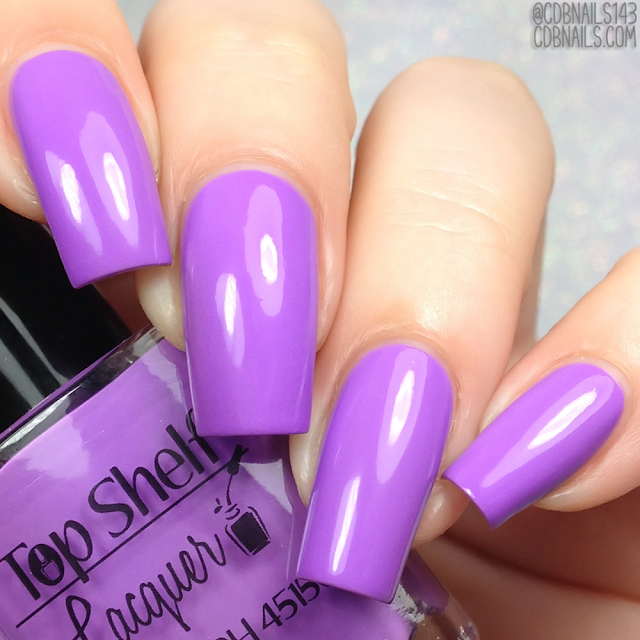 Top Shelf Lacquer-Black Raspberry Vanilla Smoothie