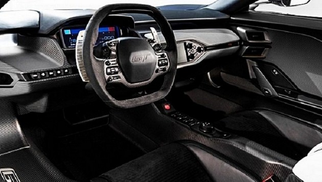 2018 Ford GT interior rumors