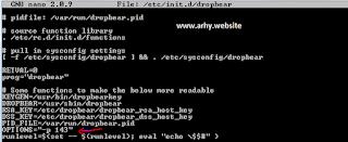 cara install ssh dropbear di centos