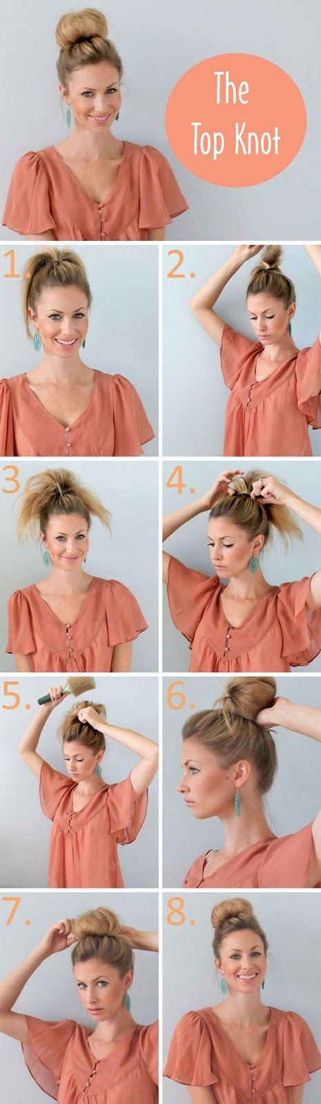 A Bun Pattern for Thin Hair