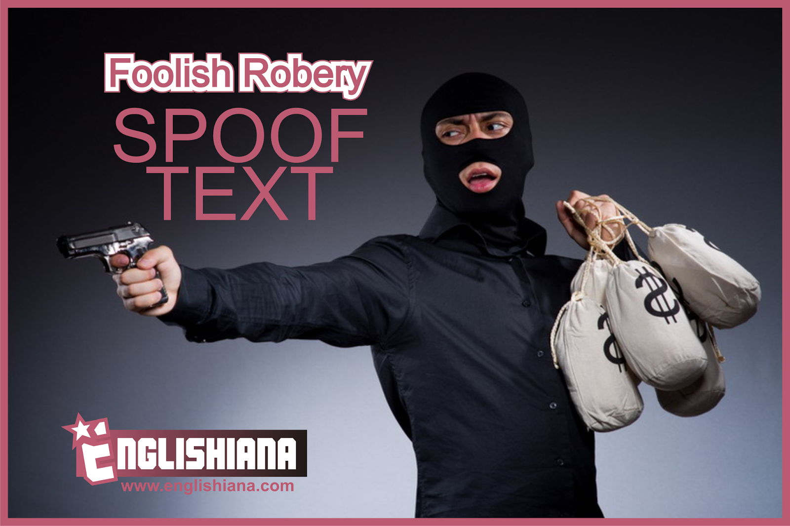 Contoh Spoof Text Kumpulan Cerita Lucu Singkat Dalam Bahasa Inggris