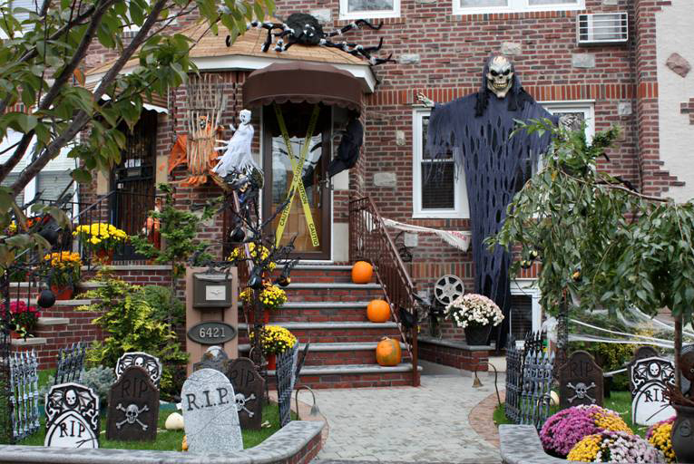 Decoration Halloween Americain