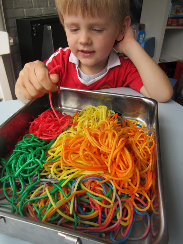 pasta kleuren kleurstof