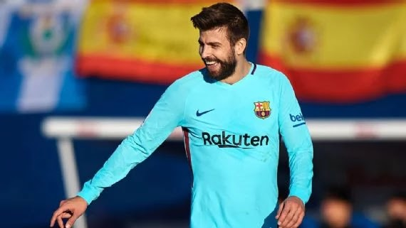 Pique claims referees favour Real Madrid