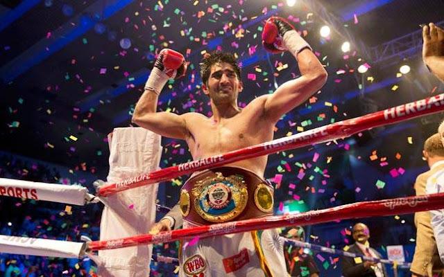 World News, Vijender Singh, Vijender Singh VS Kerry Hope, Vijender Singh WBO Asia Pacific Champion