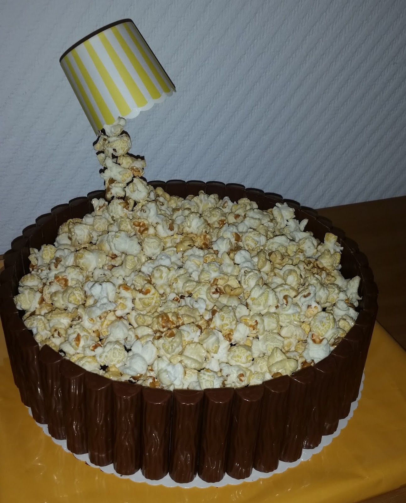 Sandy S Kitchendreams Popcorn Kuchen