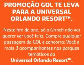 Cadastrar Promoção Gol 2018 Te Leva Universal Orlando Resort O Grinch