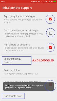 Hemat Batery Android Miui 9 Dengan Script CPU Limit Speed