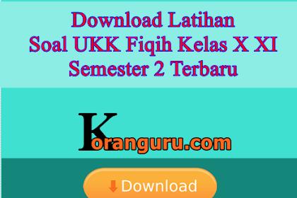 Download Latihan Soal UKK Fiqih Kelas X XI Semester 2 Terbaru