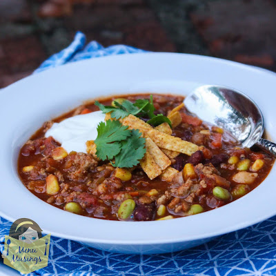 Copycat recipe of Panera Bread's Turkey Chili_menumusings.com