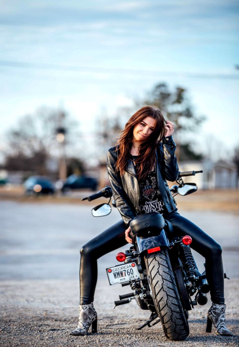 Fashion Motorcycle Girl Wallpaper   Wallpapers Library