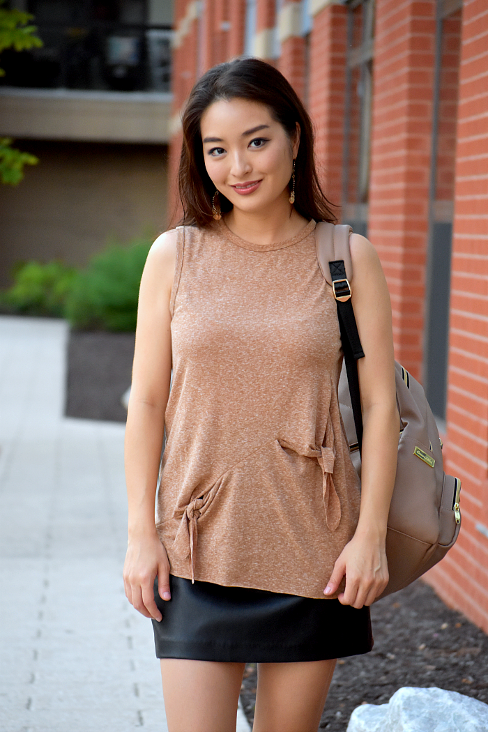 korean blogger with cute Affordable Backpacks