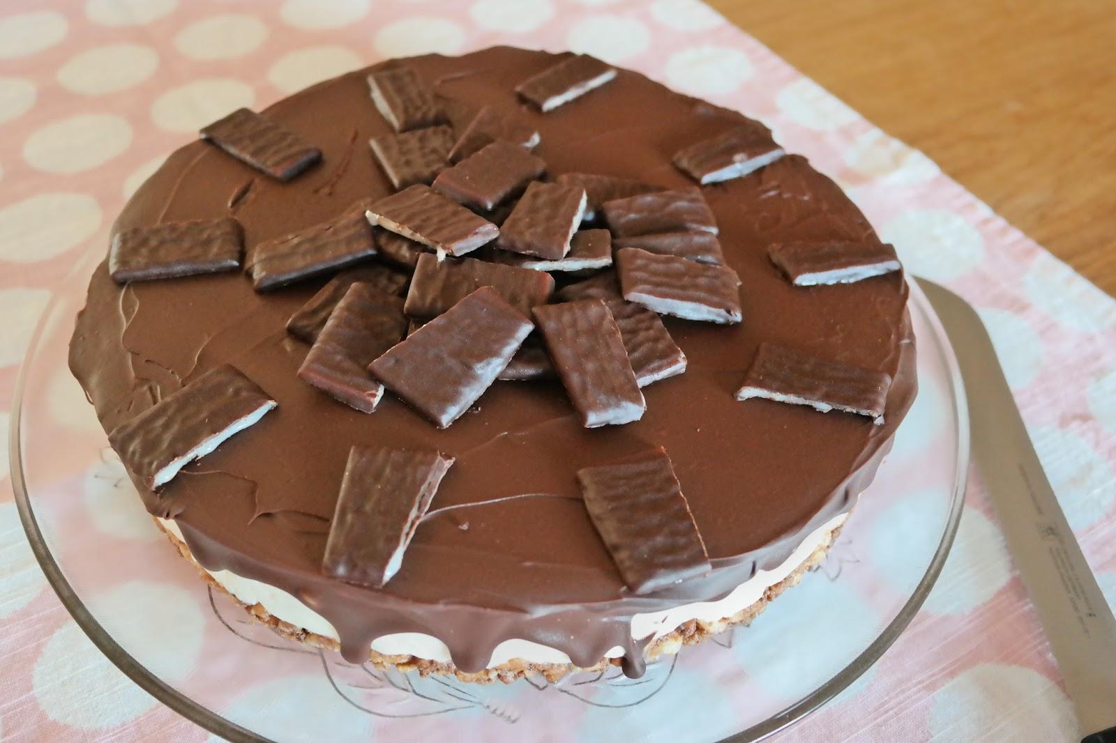 Miss Zuckerfee No Bake After Eight Torte Kuhlschranktorte