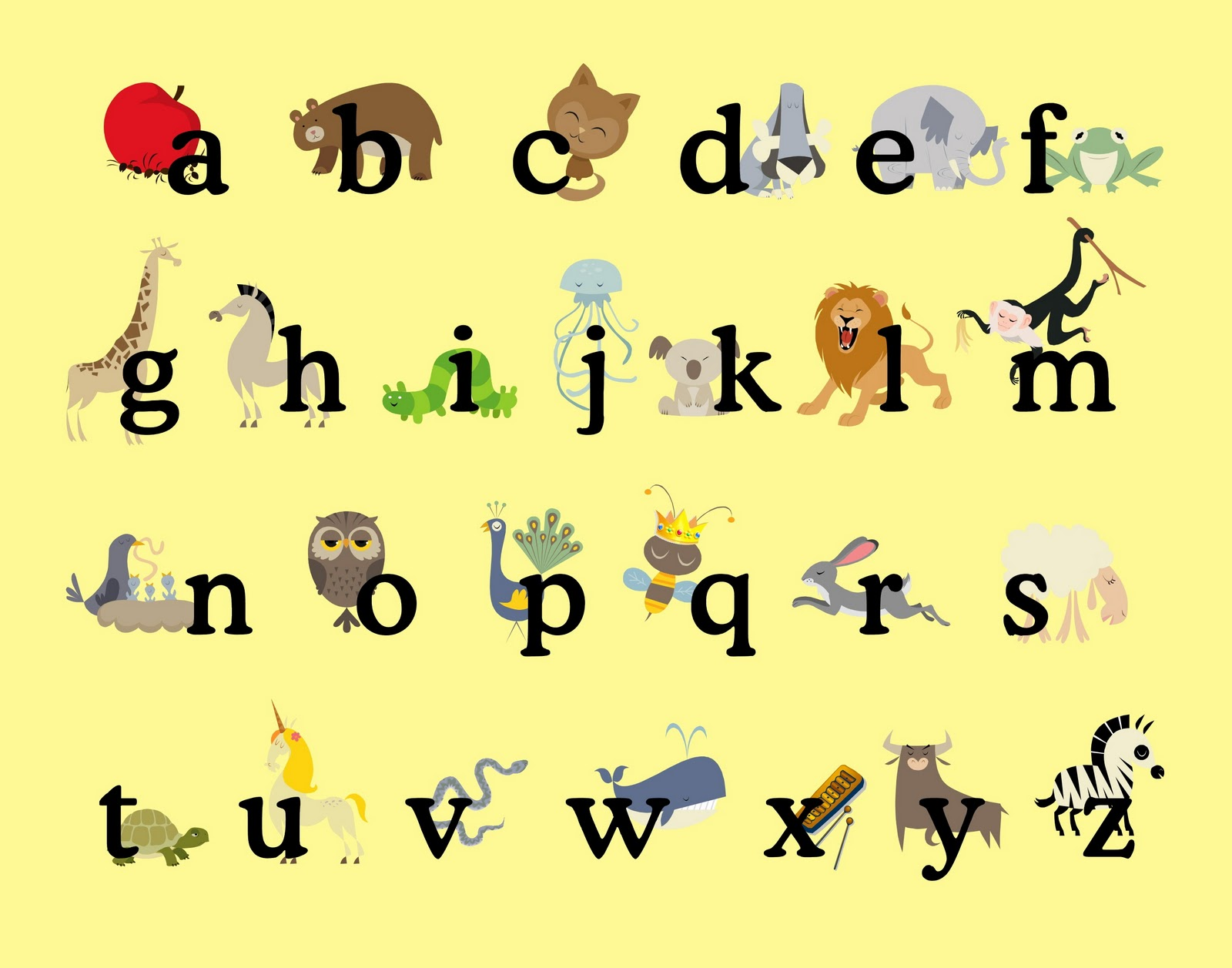alphabet poster from sprik space so many wonderful abc resources ...