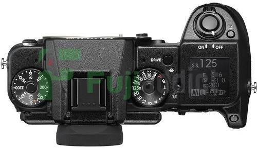 Реконструкция внешнего вида Fujifilm X-H1