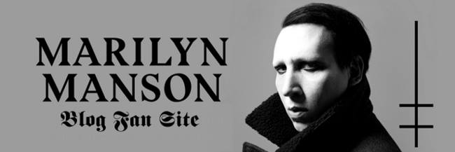 Marilyn Manson | Blog Fan Site