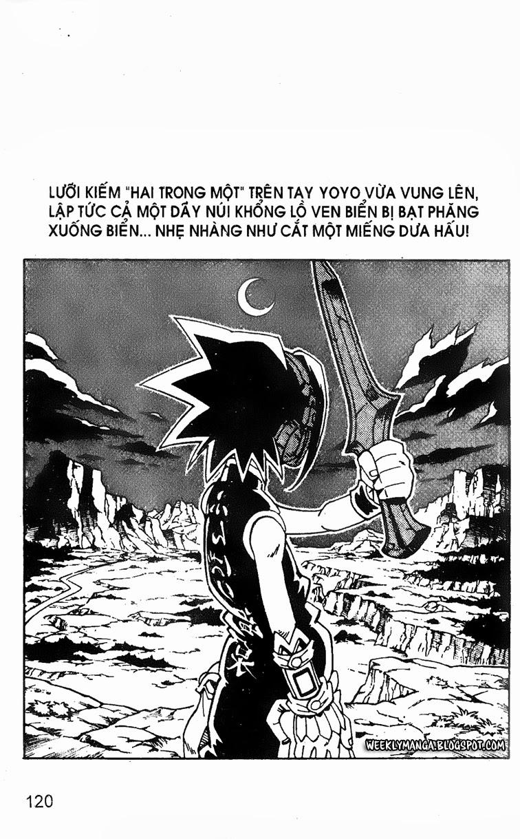 Shaman King [Vua pháp thuật] chap 129 trang 4