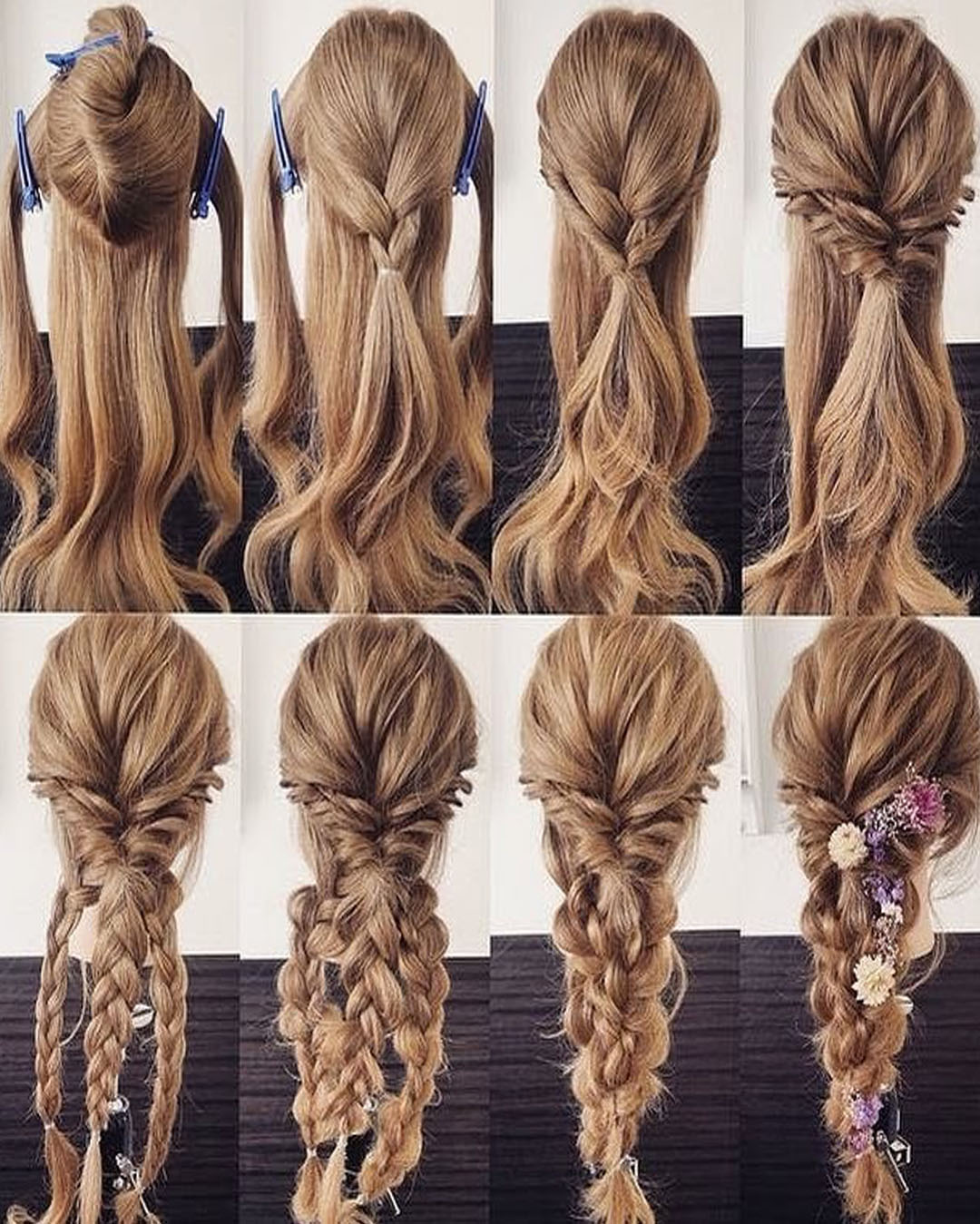 hairstyles with easy step-by-step braids and stylish tumblr