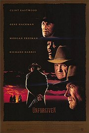 DVD artwork Unforiven 1992 movieloversreviews.blogspot.com