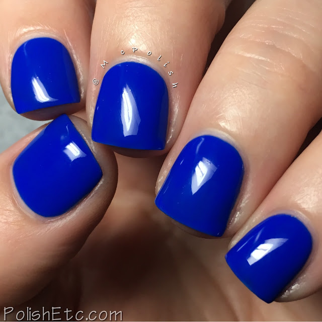 Whimsical Ideas by Pam - Holiday 2016 - McPolish - Blue Suit Blue