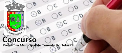 Concurso Prefeitura de Tenente Portela (RS)