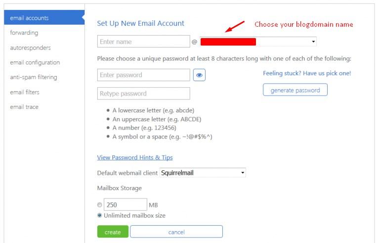 set-up-new-Bluehost-Webmail-account