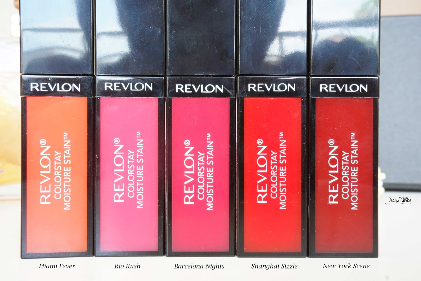 Revlon, colorstay, moisture stain, collection, review, swatch