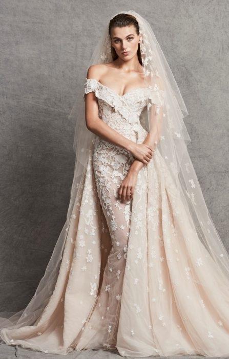7a30e69257 La colección de novias de Zuhair Murad otoño 2018 tiene vestidos de ensueño