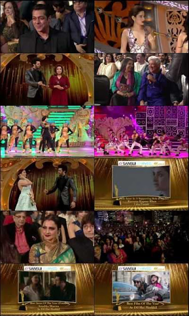 Sansui Colors Stardust Awards 2017 Hindi Download 500mb WEB-DL