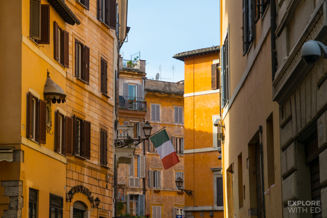 Places to stay in central Rome