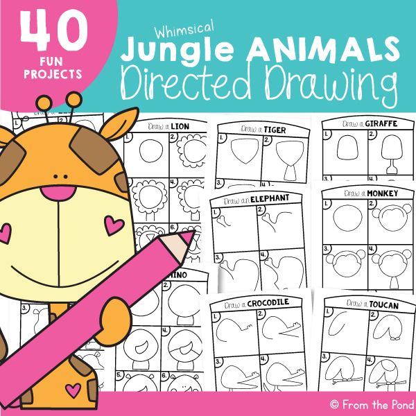 Jungle Drawing Art Project