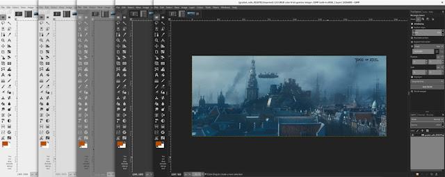 Novos temas GIMP