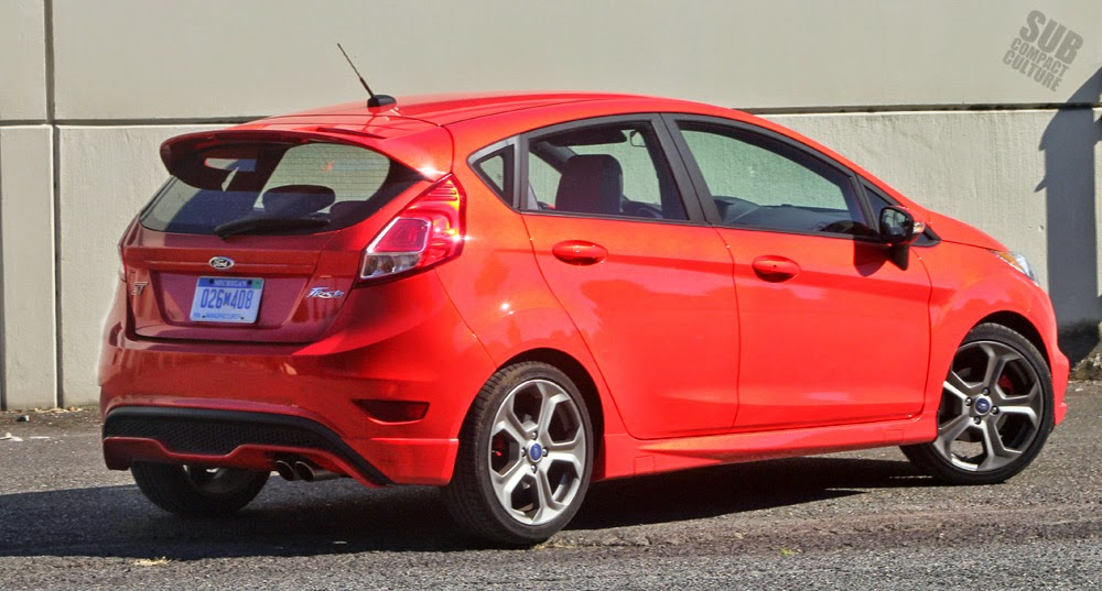 2014 Ford Fiesta ST rear